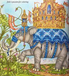 ZEMLJA SNOVA by Tomislav Tomic| julie's passion for coloring w/videoa; Mar 2017 #juliespassionforcoloring #juliebouve #zemljasnova #tomislavtomic #adultcoloring