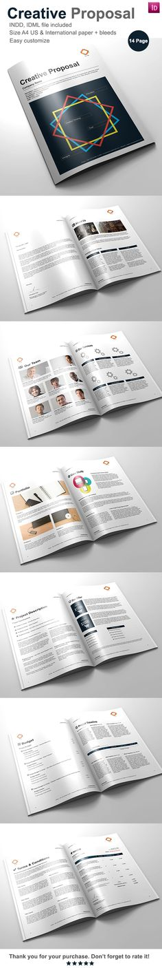 Web Design Proposal Proposal templates, Proposals and Brochures - design proposal