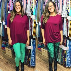 Fishnet tights stockings leggings over LuLaRoe leggings