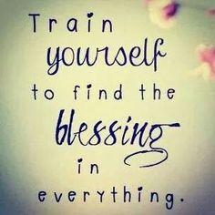 Detrás de lo q sucede, siempre hay una bendición...