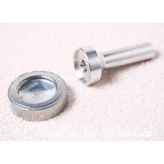 Accesorio especial para colocar broches metálicos (troquel manual)