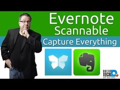 Scannable by Evernote - Capture Everything Easily - video tutorial