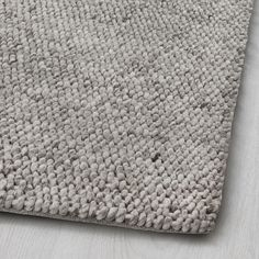 HJORTHEDE Rug IKEA The rug is made of wool so it's naturally soil-repellent and very durable. Handwoven by skilled craftspeople, and therefore unique. At Home Furniture Store, Modern Home Furniture, Handmade Home Decor, Handmade Rugs, Dark Carpet, Beige Carpet, Modern Carpet, Carpet Trends, Carpet Ideas