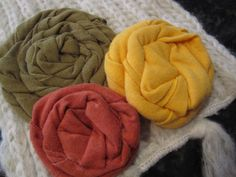 Cathie Filian {Cathie and Steve like to make things.}: 101 Tees: Jazz up a Scarf with T-Shirt Roses