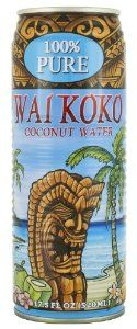 Wai Koko 100% Pure Coconut Water, 17.5-ounce (Pack of 12) - http://handygrocery.org/grocery-gourmet-food/beverages/coconut-water/wai-koko-100-pure-coconut-water-175ounce-pack-of-12-com/