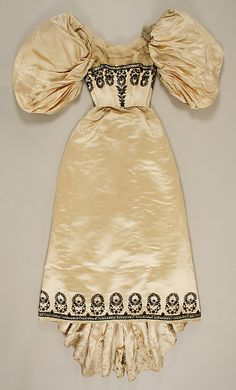 Dress, House of Worth 1894, French