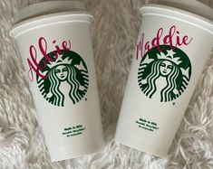 Personalized 16oz Starbucks Cup BPA FREE reusable tumbler / coffee / wedding / gift / birthday / party / travel / bridesmaid / your own text Starbucks Gift Baskets, Coffee Gift Baskets, Cute Birthday Gift, Birthday Cup, Birthday Ideas, Starbucks Birthday, Starbucks Christmas, Bridesmaid Cups, Trending Christmas Gifts