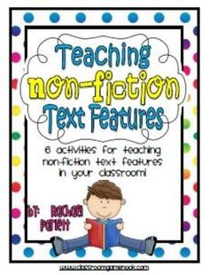 Help your students become fluent with nonfiction text features!  6 easy-to-implement classroom activities! Teaching Non-Fiction Text Features Packet $3.99