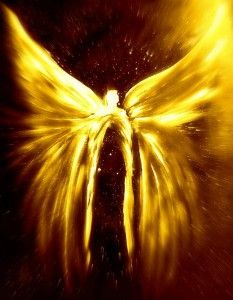 Angels of the Golden Light Ascension - By Alma Yamazaki 24 in x 36 in Poster…