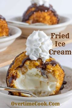 Fried Ice Cream « yummm! I've had fried ice cream once before and it was amazing. I can't believe it's so much easier to make than I thought!