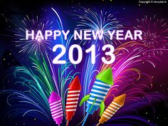 New Year 2013 Celebration Wallpaper..