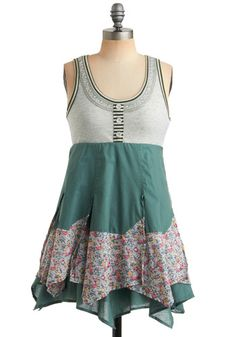 Traipsing in the Meadow Dress (I bet we could make one like this!)