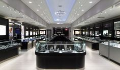 """Gerard Peters Jewelry  Manufacture & Design of Store Fixtures by Artco Group  """"The only way to do great work is to love what you do"""" #retaildesign #storedesign #storefixtures #retail #jewelers"""
