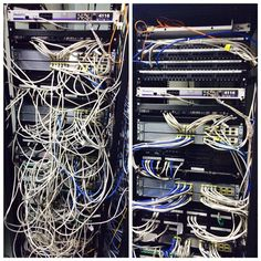 Before - After - Cabling