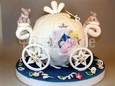 Cinderella Kutsche Torte