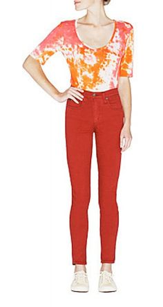 Would style this with a canvas fedora, dark blue skinny jeans, and fringed moccasins...The Starburst T by StyleMint.com, $29.99