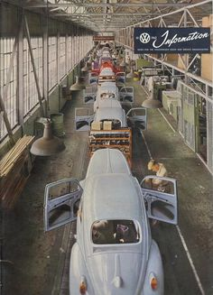 VW Beetle Factory, ID DO ANYTHING JUST TO GO HERE @roxy23roller
