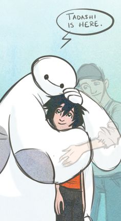 Big Hero 6- Tadashi is here. #baymax -silent screaming- I am not over this character death I\'m so serious.