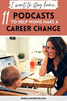 You are worried that if you stay at home with the kids, you will not have a career to move onto. Not true. Check out these 11 inspiring podcast episodes that embrace resilience and reinvention.