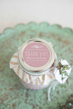Homemade Dressing Mini Mason Jar Favour | Confetti.co.uk