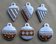 Christmas Cookies, Christmas Ornaments, Christmas Gingerbread, Holiday Baking, Coffee Time, Cookie Decorating, Food Art, Sugar Art, Holiday Decor