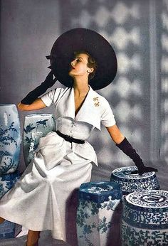 Mary Jane Russell Harper's Bazaar 1949 photo by Louise Dahl-Wolfe