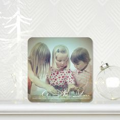 Bokeh Bubbles - New Years Cards in Walnut Brown