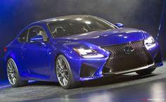 2014 Detroit Auto Show: Lexus RC F