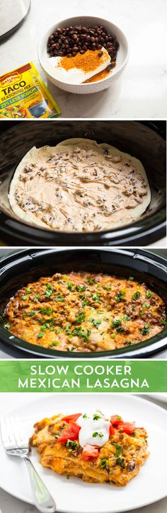Looking for a new go-to recipe for busy weeknights, or lazy weekends? Put this Slow Cooker Mexican Lasagna from @iheartnaptime into your menu rotation! It combines everything you love about lasagna, with the Mexican flavors you crave - with almost none of the work! It takes just 8 ingredients and a slow cooker - and you can set it and forget it!