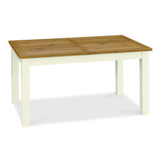 Rustic Two Tone 6 seater Dining Table - £199 | brandinteriors.co.uk