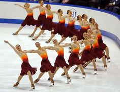 Synchronized skating.... Some of the best memories