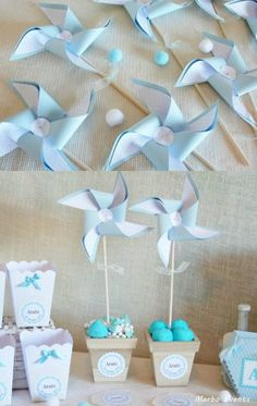 36 Ideas for baby boy baptism decorations simple Idee Baby Shower, Baby Shower Cakes, Baby Shower Parties, Baby Boy Shower, Baby Boy Baptism, Baby Shawer, Baptism Decorations, Baby Shower Decorations, Baby Shower Souvenirs