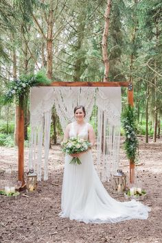 How stunning is that Macrame backdrop?! We adore this shoot at Rushmere Country Park featured in Issue 78 of Your Herts & Beds Wedding Magazine 😍  The team: Styling, @pinkpeonyweddings Calligraphy stationery, @letteredbyannie Tipi, @thenaturaltentco Dresses, @ivory_wardrobe , @bridesboutiquebuckingham Photographer, @perfect_timing_photography Cake, @minniescakesandcreations  Balloons, @oddartevents  Marquee, @strawberry_fieldz_events Flowers, @bloomfieldsflowers Tables, linen and cutlery…