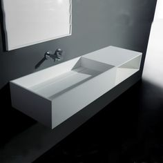 Attrayant Pure Wall Hung Sink With Shelf
