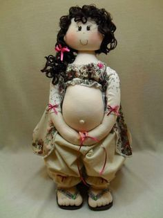 Schwangeres Mami - pregnant mom - free pattern •❤° Nims °❤•