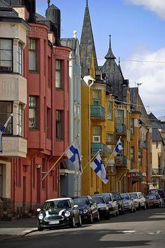 Huvilakatu, Helsinki, Finland. Helsinkiphoto by Kari Palsila