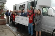 Lions International Foundation donated $25,000 of the $80,000 needed to purchase a handicap-accessible 13-passenger van for the Guardian Angels of Elk River. The  River Lions, the Rogers Lions, the Nowthen Lions, the Zimmerman Lions and the Albertville Lions also supported the project.