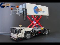 Lego Technic Airport Catering Truck! | 42043 C model - YouTube