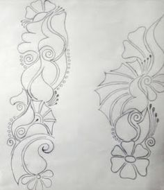 ideas flowers drawing design pictures for 2019 Henna Tattoo Designs Simple, Simple Arabic Mehndi Designs, Full Hand Mehndi Designs, Mehndi Designs Book, Mehndi Designs 2018, Mehndi Design Pictures, Mehndi Designs For Girls, Mehndi Designs For Beginners, Mehndi Designs For Fingers