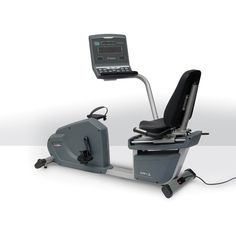 This Aristo Commercial Recumbent Bike has everything you need for an effective cardio workout.