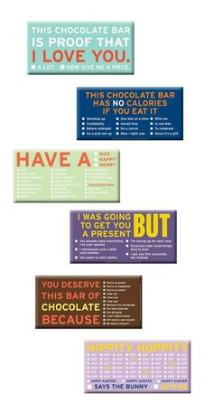 Made my day and I see a lot of #chocolate packaging : ) PD