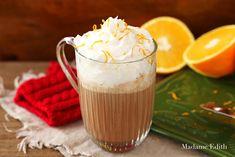 Orange Mocha - wspaniała o smaku pomarańczy i czekolady. Jest pyszna i bardzo rozgrzewająca. Dodaje energii, jest idealna na jesień i zimę!