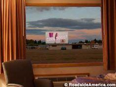 Watch a movie from your motel room. - Movie Manor Motor Inn in Monte Vista Colorado
