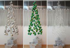 Faça você mesmo árvores de Natal criativas - Assuntos Criativos