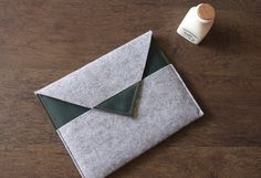 Filz ipad mini Hülle, Kindle Tasche Tablet Hülle  von loka89 auf DaWanda.com                                                                                                                                                     Mehr