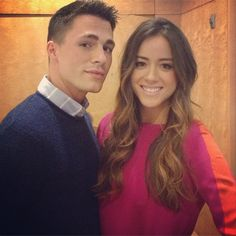 with ~ Chloe Bennett (Agents of S.H.I.E.L.D)