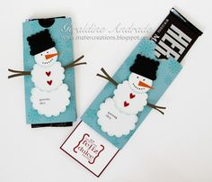 Good for christmas stockings chocolate bar sliders Stamped Christmas Cards, Christmas Paper Crafts, Stampin Up Christmas, Christmas Bags, Christmas Candy, Holiday Crafts, Christmas Ideas, Christmas 2014, Holiday Ideas