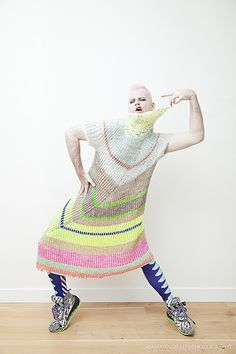 Ravelry: Askews Me Dress pattern by Stephen West