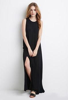 High-Slit Maxi Dress | Forever 21 - 2002247790