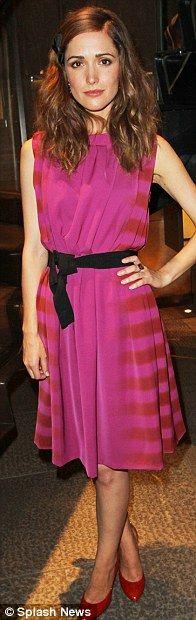 rose byrne--that dress!